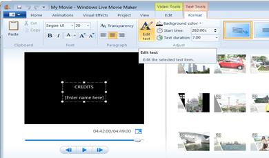 Slideshow จากภาพสวยประกอบเพลงโปรด ด้วย Windows Live Movie Maker
