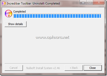 การ remove Toolbar